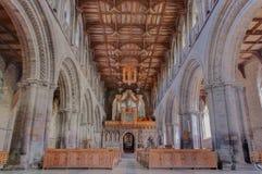 Cathédrale de St Davids, Pays de Galles, R-U image stock