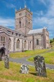 Cathédrale de St Davids, Pays de Galles, R-U image libre de droits