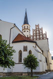 Cathédrale de St Jacob dans Levoca Image libre de droits