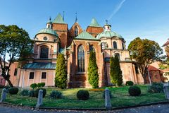Cathédrale de St John le baptiste à Wroclaw, Pologne photo libre de droits
