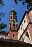 Cathédrale de St Kilian dans le rzburg de ¼ de WÃ, Allemagne Photo stock