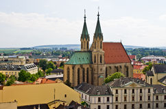 Cathédrale de St Moritz dans Kromeriz, République Tchèque photo libre de droits