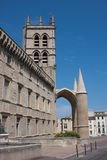 Cathédrale de St Peter à Montpellier Image libre de droits