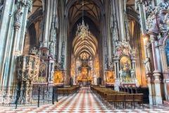 Cathédrale de St Stephen à Vienne Photographie stock