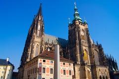 Cathédrale de St Vitus Prague photo libre de droits
