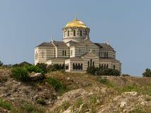 Cathédrale de St Vladimir dans Cherson Images libres de droits