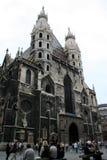 Cathédrale de Stephansdom - Vienne Photos stock