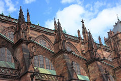 Cathédrale de Strasbourg Photo stock