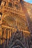 Cathédrale de Strasbourg Photo libre de droits
