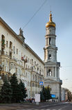 Cathédrale de supposition à Kharkov l'ukraine Photo stock