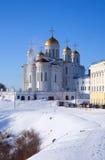 Cathédrale de supposition chez Vladimir Photos libres de droits