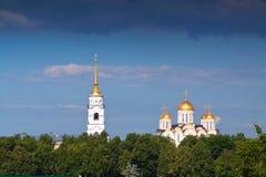 Cathédrale de supposition chez Vladimir Images libres de droits