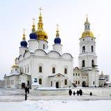 Cathédrale de supposition dans Tobolsk, Russie Image stock