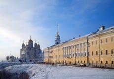 Cathédrale de supposition dans Vladimir Photos stock