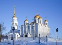 Cathédrale de supposition dans Vladimir Photographie stock