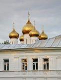 Cathédrale de supposition dans Yaroslavl Russie Images libres de droits