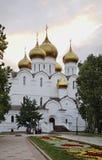 Cathédrale de supposition dans Yaroslavl Russie Photos libres de droits