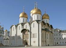 Cathédrale de supposition, Moscou Kremlin Russie Photo stock