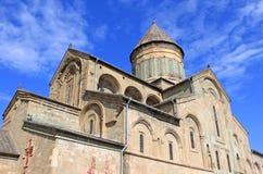 Cathédrale de Svetitskhoveli dans Mtskheta Image stock