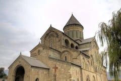 Cathédrale de Svetitskhoveli Mtskheta georgia photographie stock