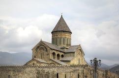 Cathédrale de Svetitskhoveli Mtskheta georgia photo stock