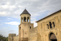 Cathédrale de Svetitskhoveli Mtskheta georgia photo libre de droits