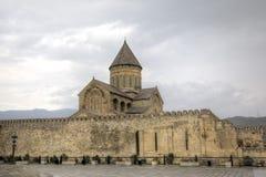 Cathédrale de Svetitskhoveli Mtskheta georgia photos stock
