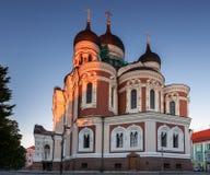 Cathédrale de Tallinn Images stock