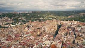 Cathédrale de Tarragona banque de vidéos