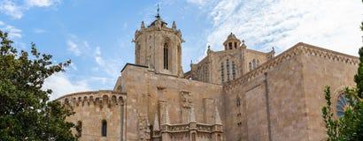 Cathédrale de Tarragone, en Catalogne image stock