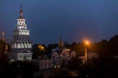 Cathédrale de Tashkent de l'église orthodoxe russe Photos libres de droits