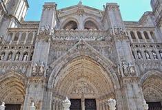 Cathédrale de Toledo image libre de droits