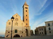 Cathédrale de Trani, Puglia, Italie Images libres de droits
