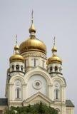 Cathédrale de Transfiguration dans Khabarovsk Russie Images libres de droits