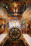 Cathédrale de transfiguration dans le monastère du saint Euthymius dans Suzdal photos stock