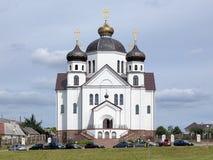 Cathédrale de transfiguration dans Smorgon, Belarus photographie stock libre de droits