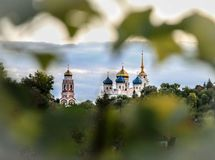 Cathédrale de Transfiguration Ville de Bolkhov photos stock