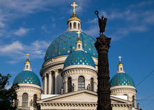 Cathédrale de trinité Image libre de droits