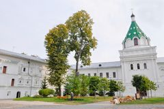 Cathédrale de trinité de christianisme dans le monastère d'Ipatievsky, berceau o Photos libres de droits