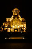 Cathédrale de trinité de saint à Tbilisi Photographie stock
