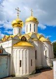 Cathédrale de trinité en Russie Images stock