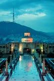 Cathédrale de trinité sainte de Tbilisi, trinité ou Sameba Photo libre de droits