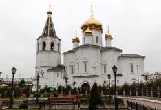 Cathédrale de trinité sainte de Tyumen Images libres de droits