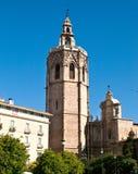 Cathédrale de Valence Photo libre de droits