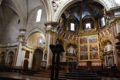 Cathédrale de Valence Image stock