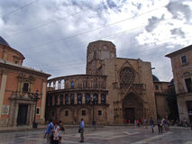 Cathédrale de Valence Photo stock