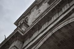 Cathédrale de Valladolid, Espagne photos stock