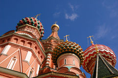 Cathédrale de Vasiliy Blajenniy Photos stock