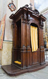 Cathédrale de Vetralla. Le Latium. L'Italie. Photographie stock