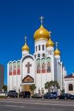 Cathédrale de Vierge Marie à San Francisco, Etats-Unis. image stock